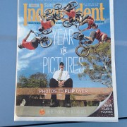 Here is Mike Hucker Clark on the cover of the Santa Barbara Independent at a Team Soil show.