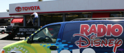 Radio Disney Hosted the Team Soil Bmx Bike Show at a Bay Area Toyota dealership.