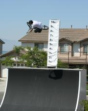Mike Castillo owns the high air contest.