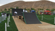 Flooring is an option for grass venues.