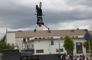 No handed Backflip by top pro Joey Cordova!